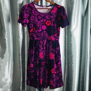 LuLaRoe Amelia Dress Sz Medium